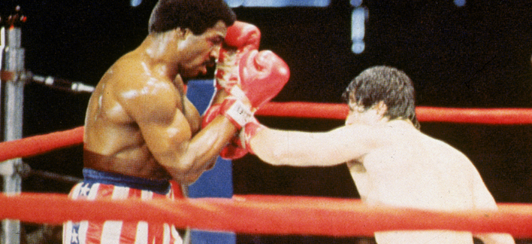 Rocky Balboa and Apollo Creed have a long history. They're friends in addition to rivals, and Rocky has helped mentor Apollo's son.