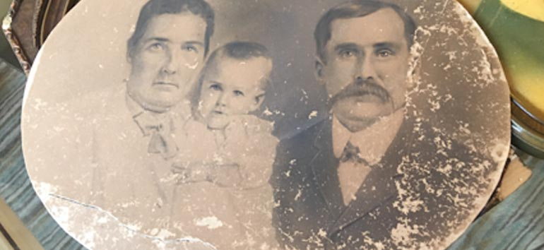 Photo Detective: Fixing Fragile Family Photos