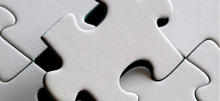 Finding a missing puzzle piece.