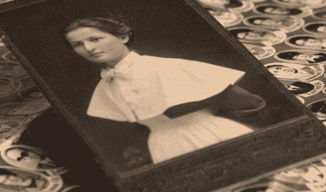 Antique family photos.