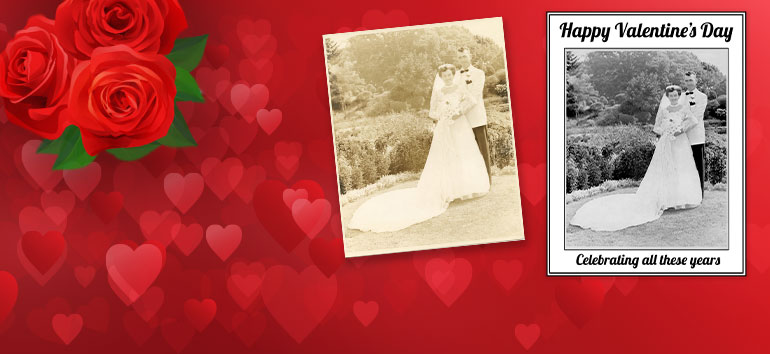 Create Treasured Gifts for Free for Valentine's Day with Vivid-Pix
