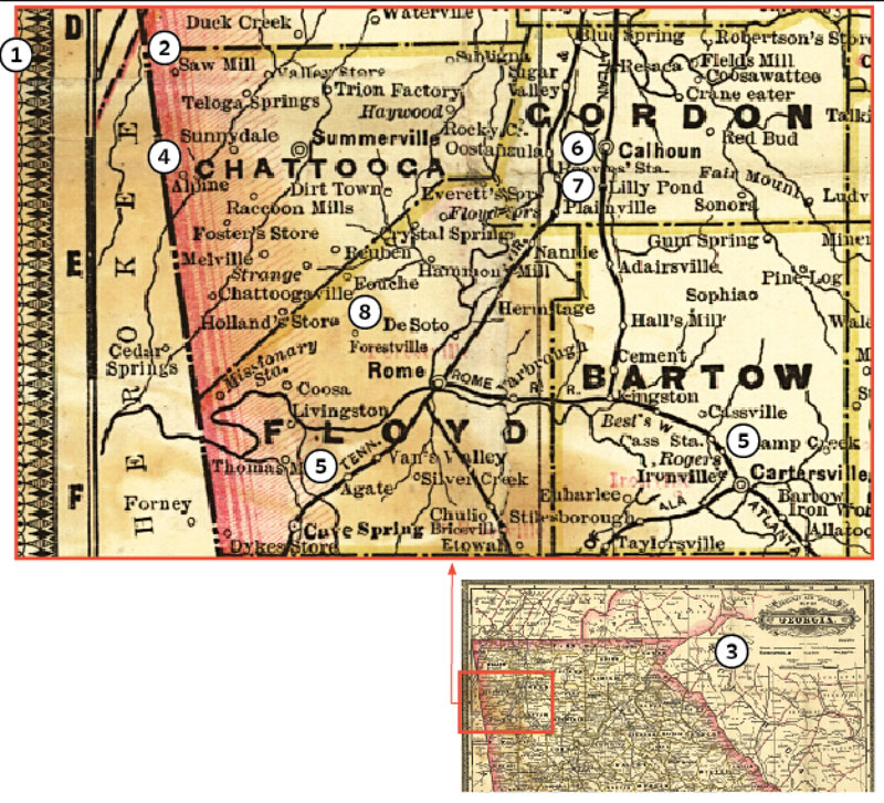 Railroad maps can provide useful contextual information about your ancestor's community, migration routes and more.