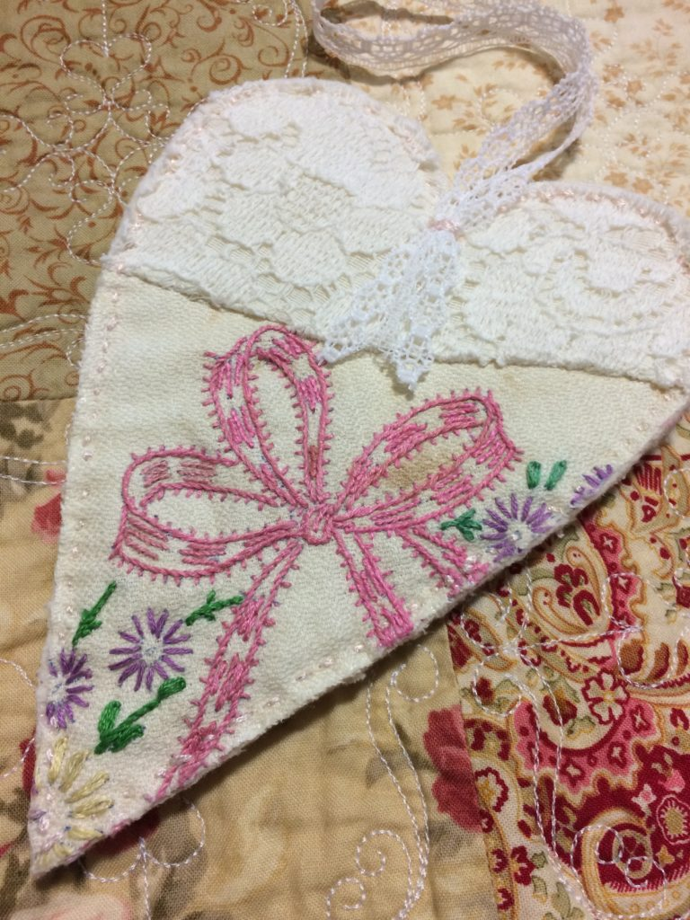 Heirloom ornament craft.