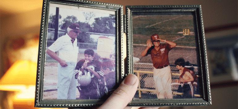 Family history football photos.