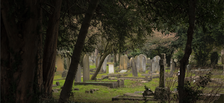 Gravestone symbols aren't just for decoration. They mean something.