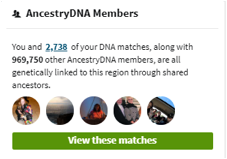 Ancestry African American Genetic Communities