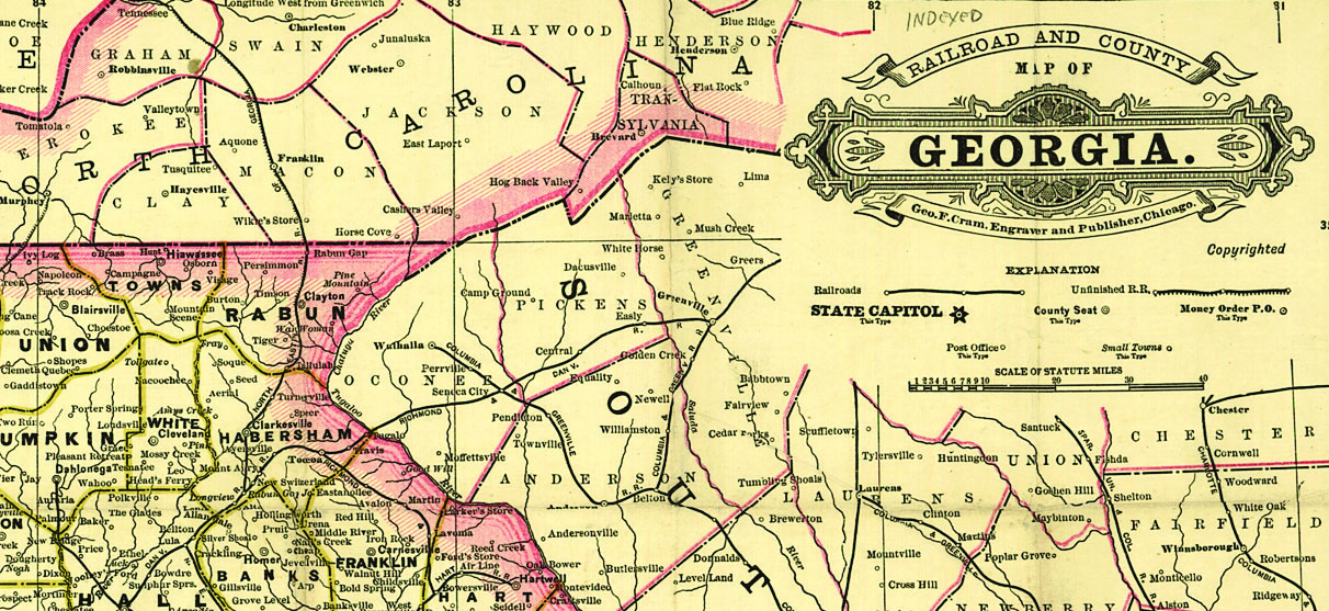 Railroad maps can provide valuable contextual information about your ancestor and his community.