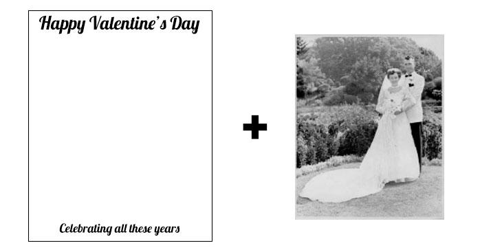 Vivid-Pix Valentine's Day Photo Card