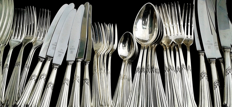 Caring for silver pieces is easy when you follow these 8 simple steps.