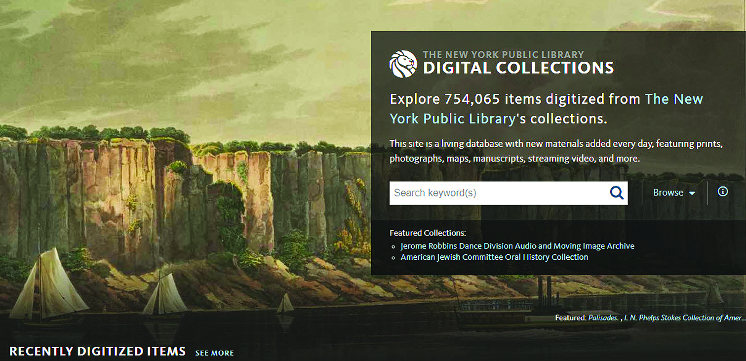 New York Public Library digital collection