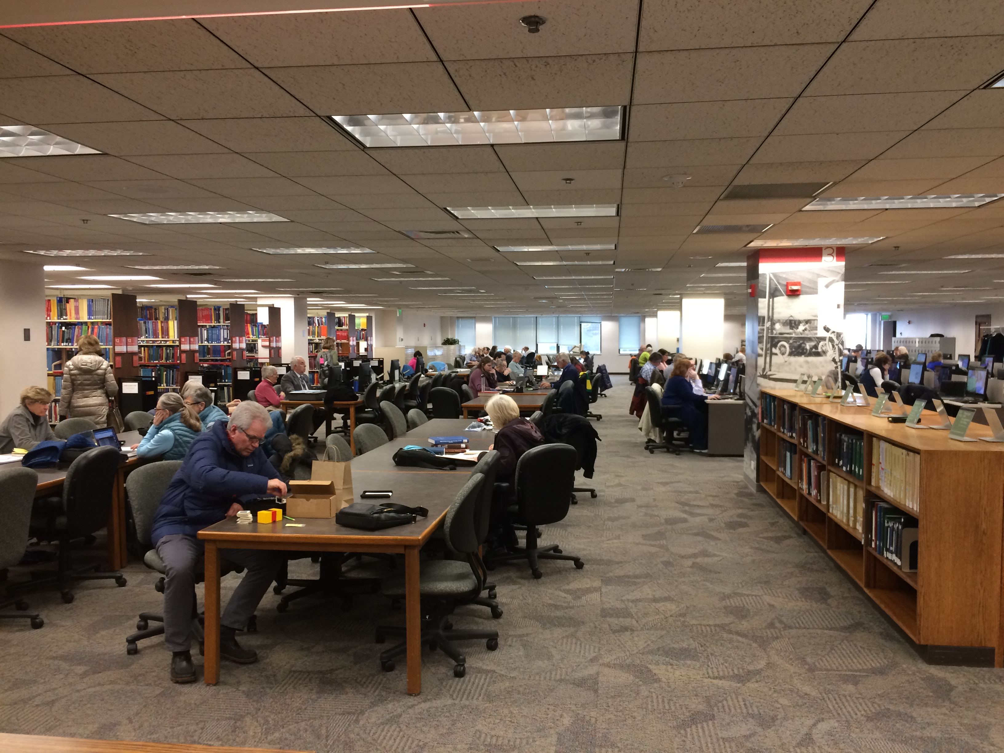 family history library top floor