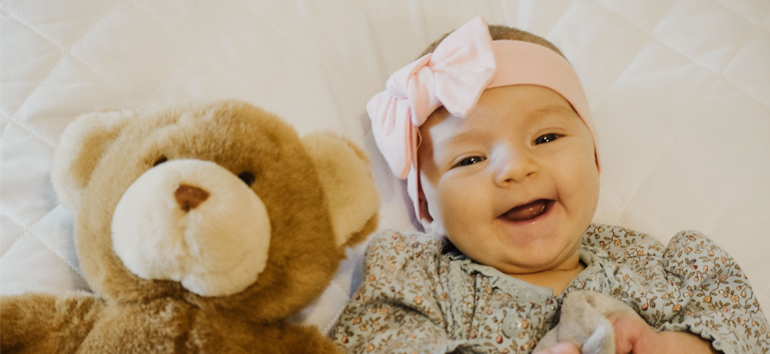 Saving baby items means preserving stuffed animals.