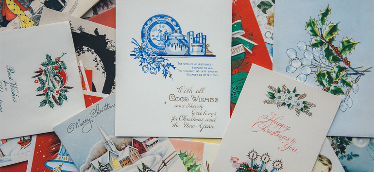 Discover a few new ideas for saving greeting cards.