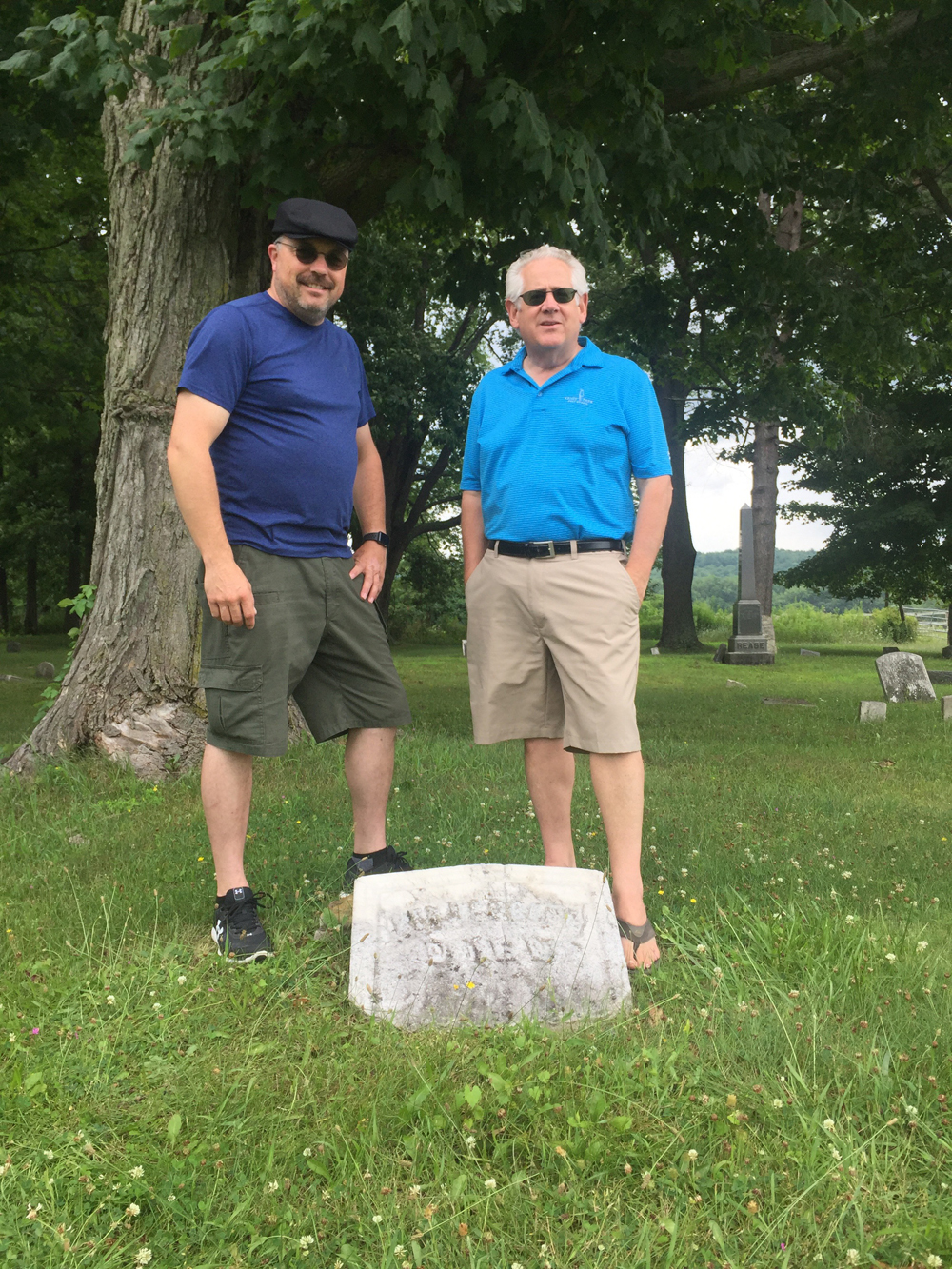 In January/February 2019's Stories to Tell column, Sunny shares the story of cousins Chris and Dave Cooley, who visited the family homestead based on information from an old journal.