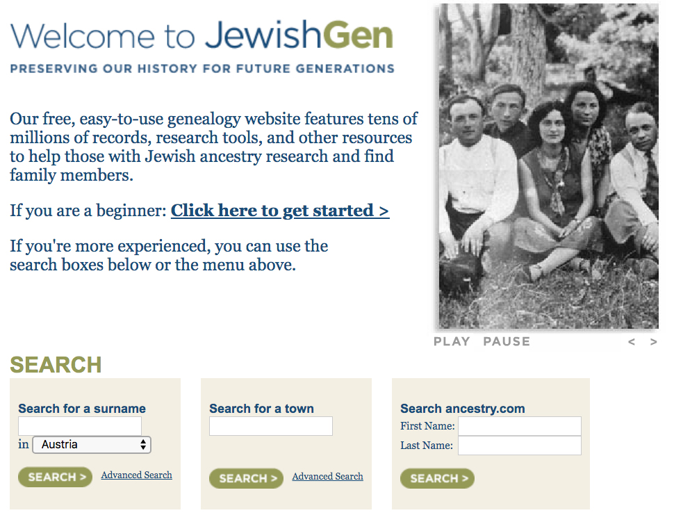 JewishGen is one of the best resources for researching your Ashkenazi Jewish genealogy.