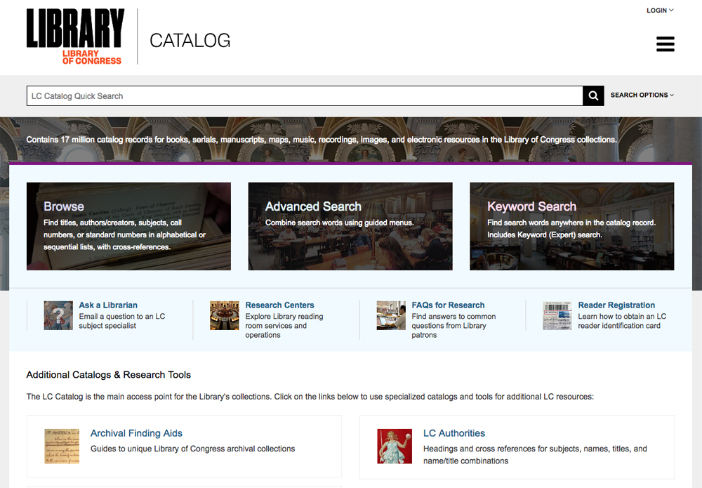 The Library of Congress is another useful free genealogy website.