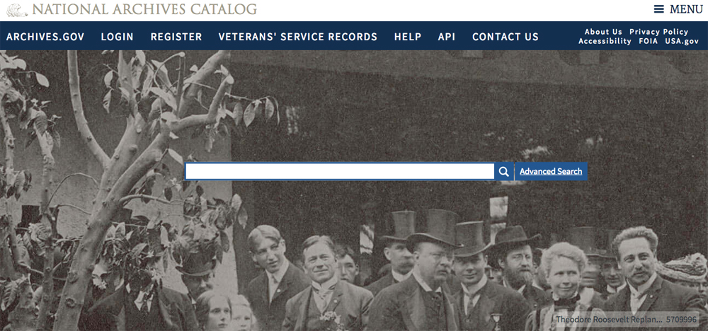 The National Archives' database contains valuable records and other free documents, which you can search on the home page.