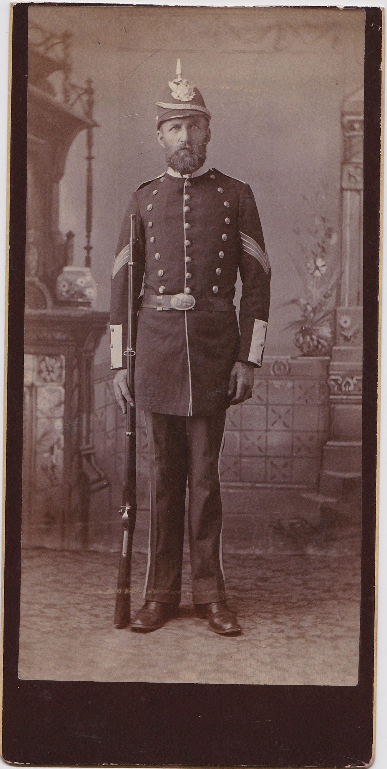 mystery military officer