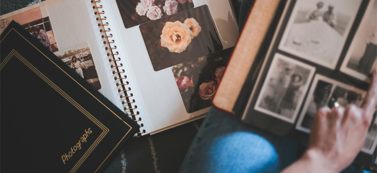 Magnetic photo albums can destroy photos over time. Learn how to prevent this from happening.