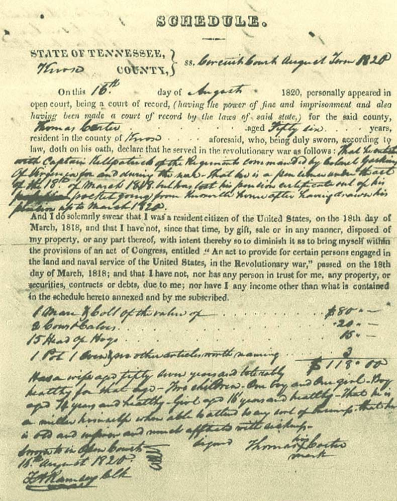 Discover your patriot ancestry using military sources such as pension records.