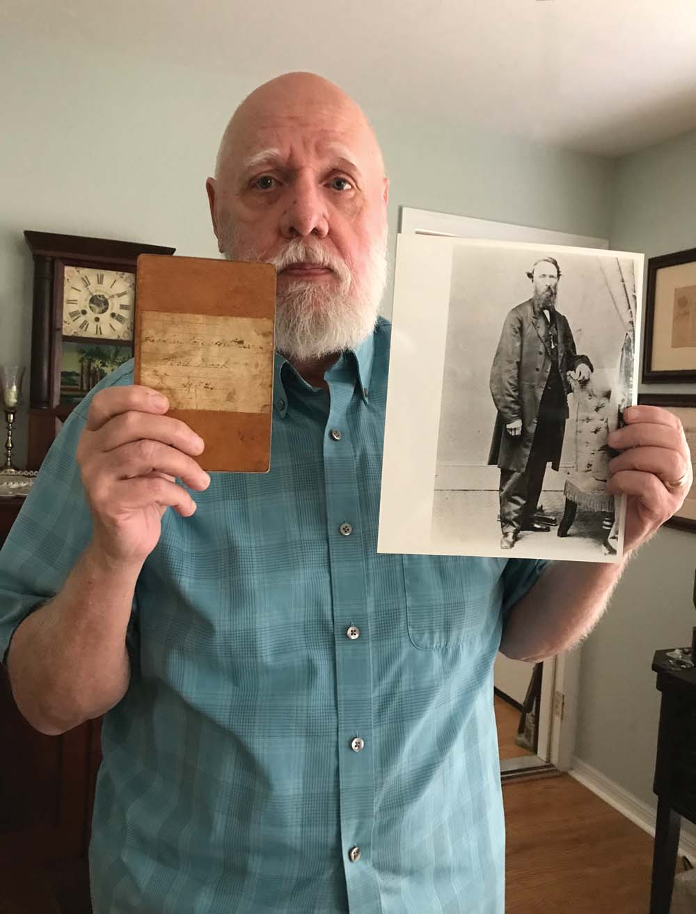 In the May/June issue's Stories to Tell column, Seward Osborne shares how he discovered his ancestor in a published history of the Civil War.