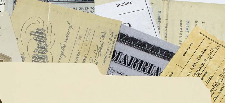 Vital record details include information you might not expect to find in birth, marriage and death certificates.