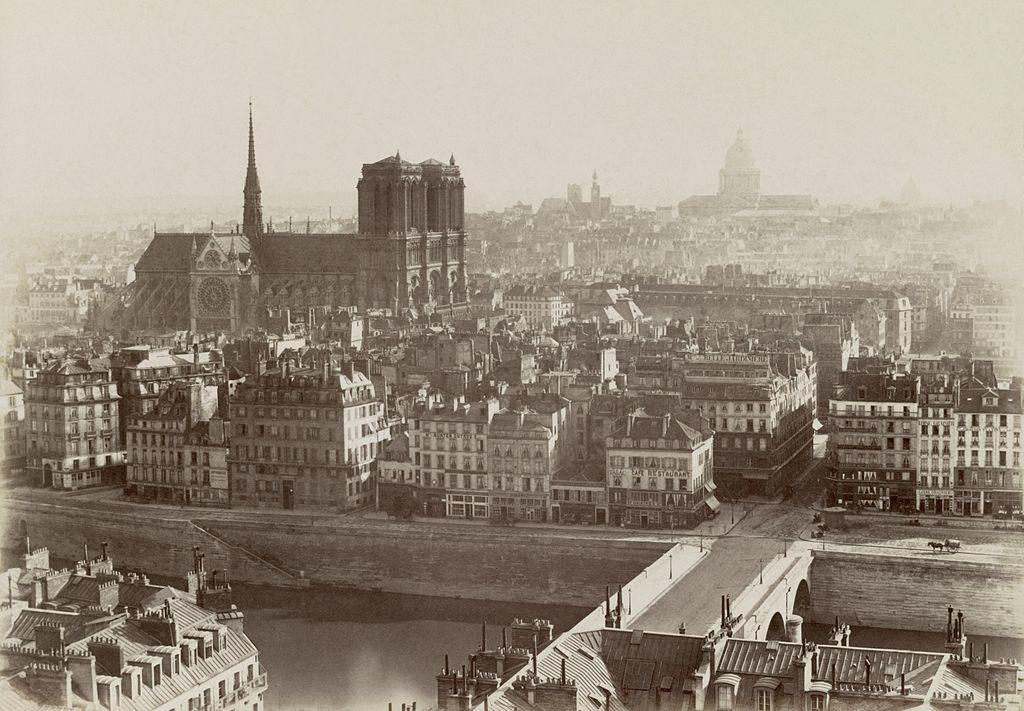 paris, france in 1865