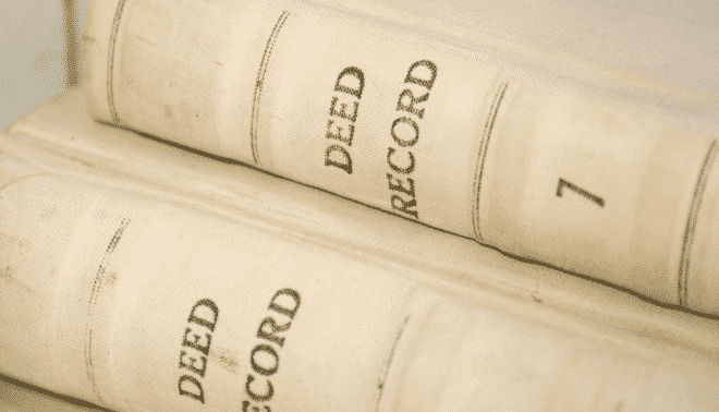 Deed record books