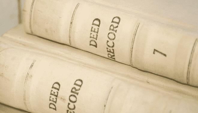 Deed record books