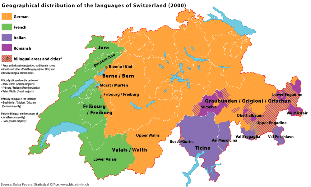 Use this map to determine what language was spoken in your ancestors' hometown.