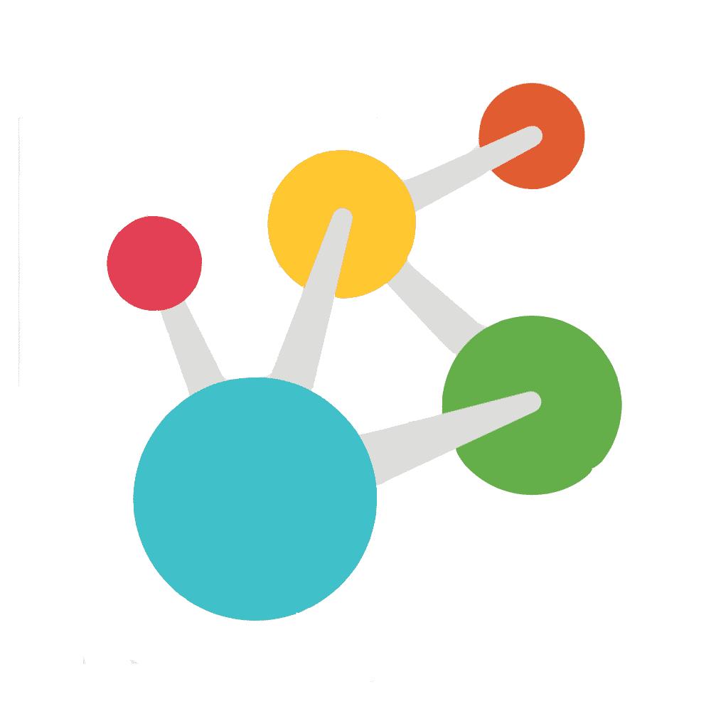 DNA molecule icon.