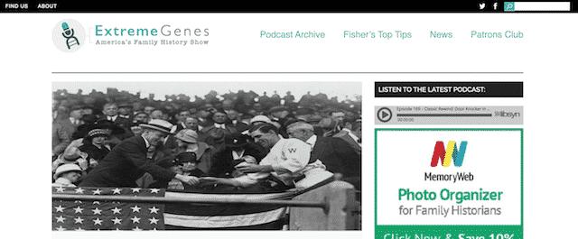 extreme genes genealogy podcast
