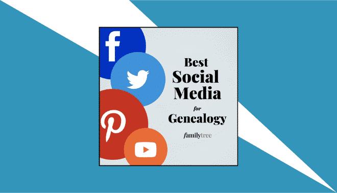 The best social media for genealogy header image.