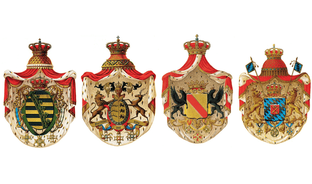 Family coats of arms