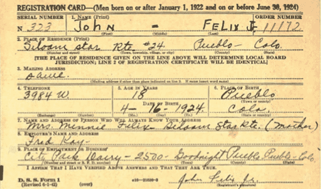 Using World War Ii Draft Registrations For Genealogy Research