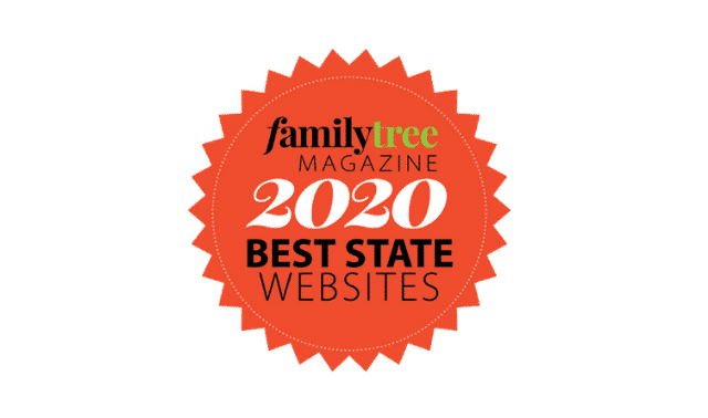 Family tree magazine best state websites 2020