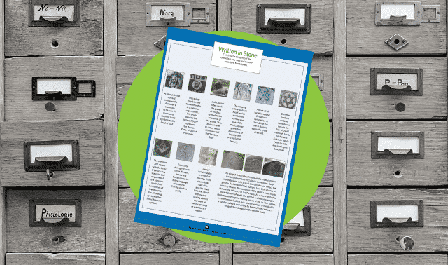 Free Tombstone Iconography Guide download from Family Tree Magazine.