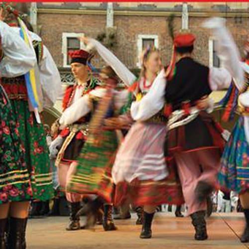 Polish dancers.