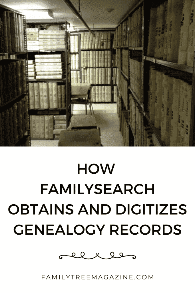 How FamilySearch Digitizes Records