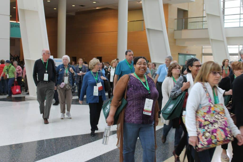 Attendees at the 2018 NGS conference in Grand Rapids, Michigan.