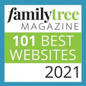 Family Tree Magazine's 101 Best Websites of 2021 logo