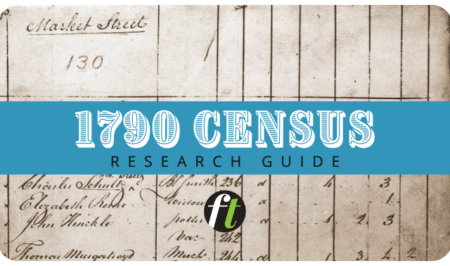 1790 census records research guide from Family Tree Magazine