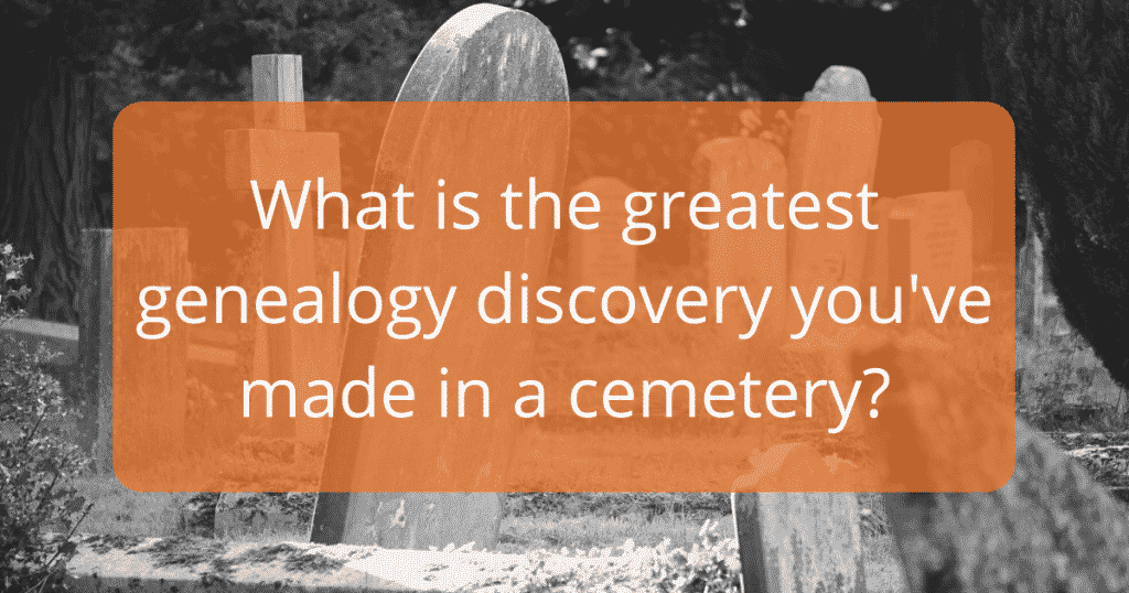 Cemetery discussion question.