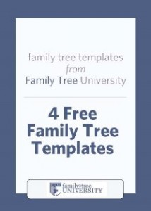 family tree template free editable
