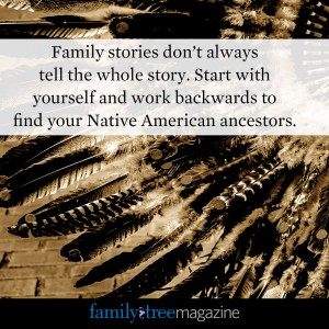 American Indian Research Tip