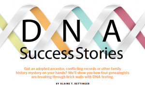 DNA testing success stories