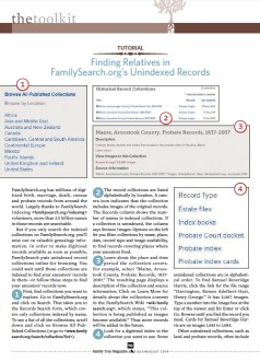 FamilySearch Unindexed Records