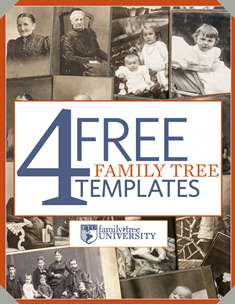4 free family tree templates
